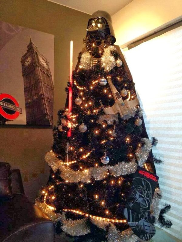 Sapin de Noël Dark Vador