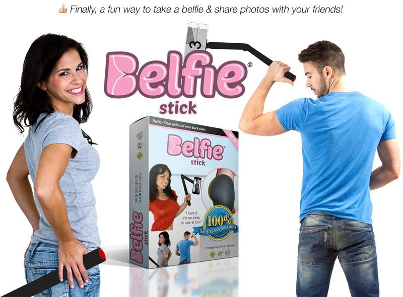 Kit pour prendre des selfies de ses fesses