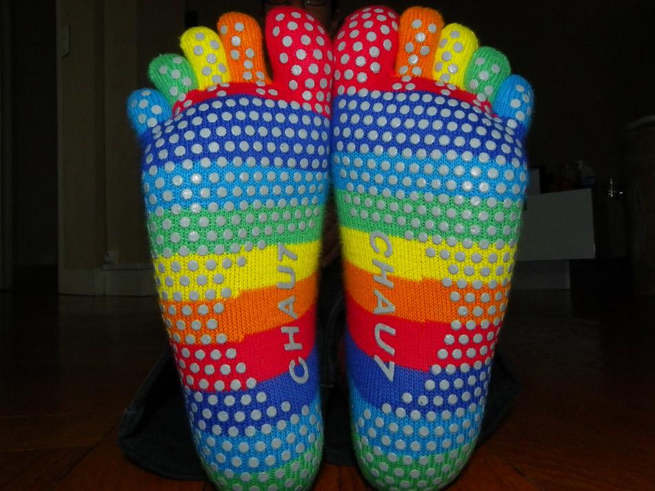 avis sur les chaussettes avec doigts Chau7