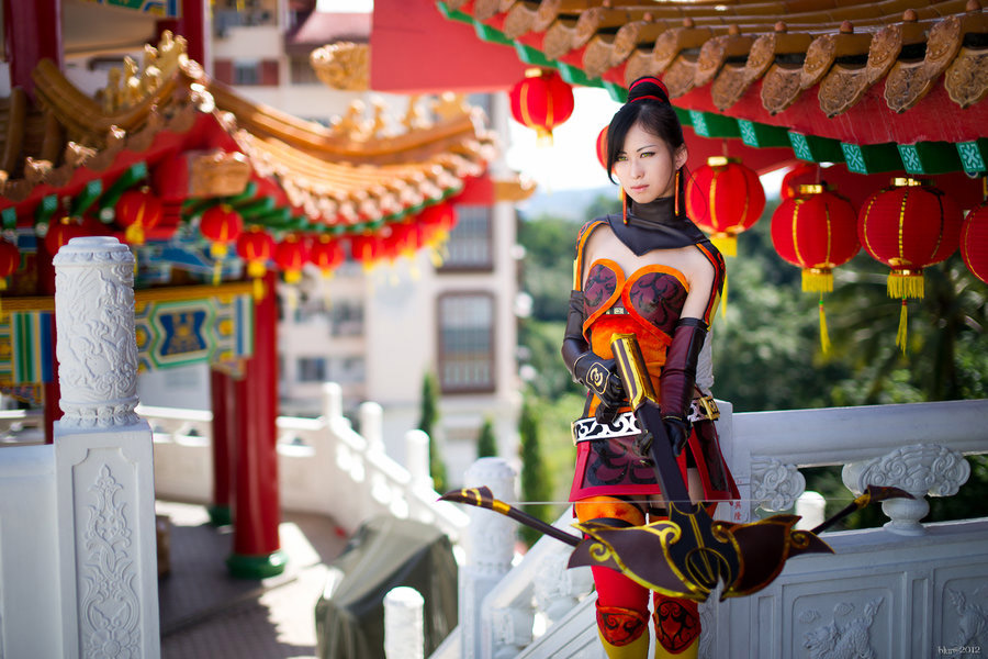 Cosplay sexy de Lian Shi de Dynasty Warriors