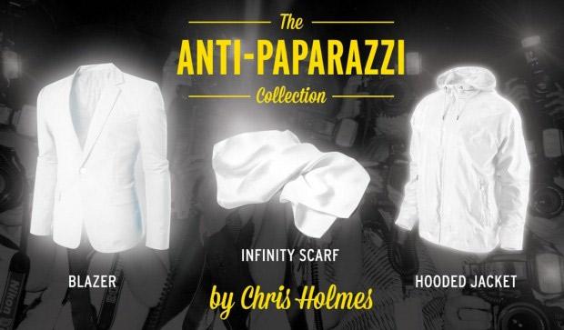 Vêtement Anti-Paparazzi