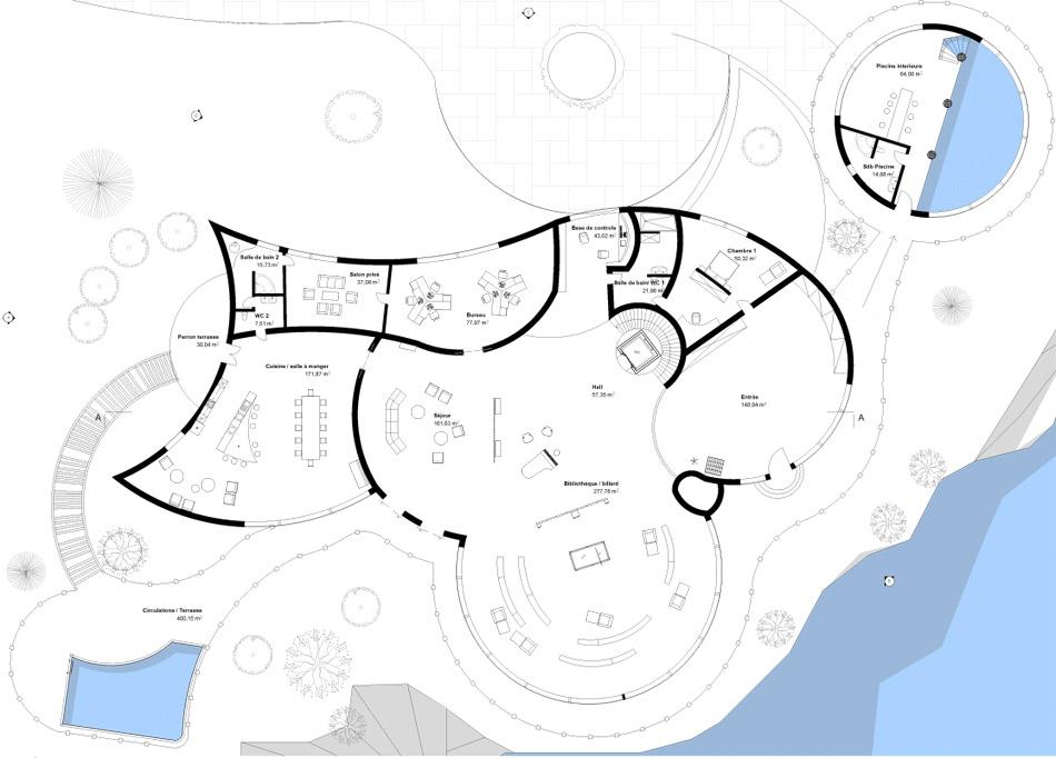 Les plans de la maison d'Iron Man - Geek
