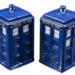 Salière et Poivrière Doctor Who