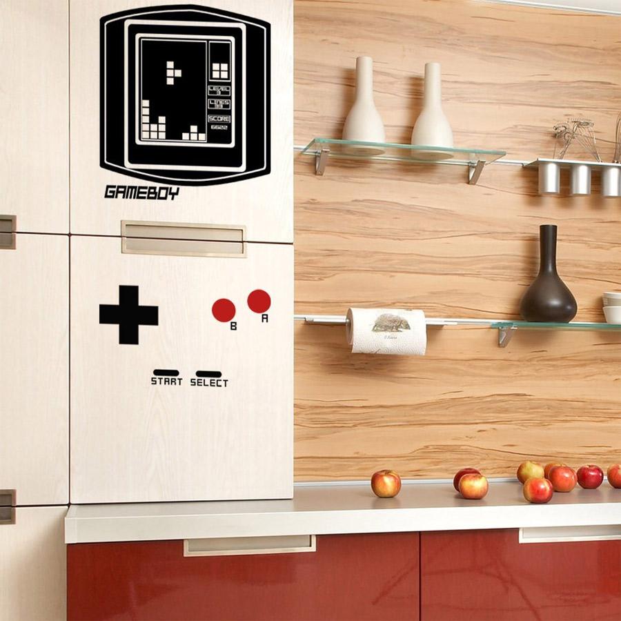 Sticker Game Boy pour frigo