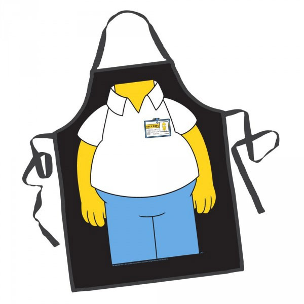 Tablier Homer Simpson