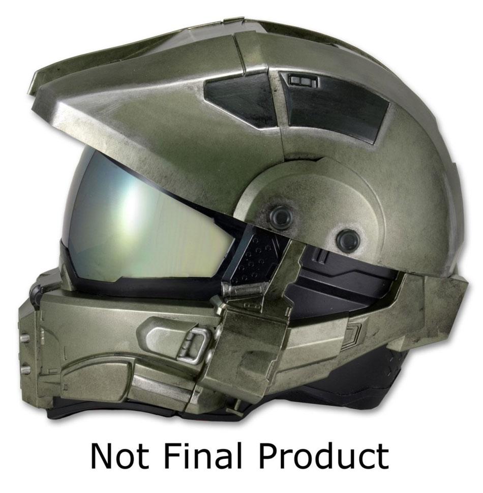 Casque de moto Master Chief Halo