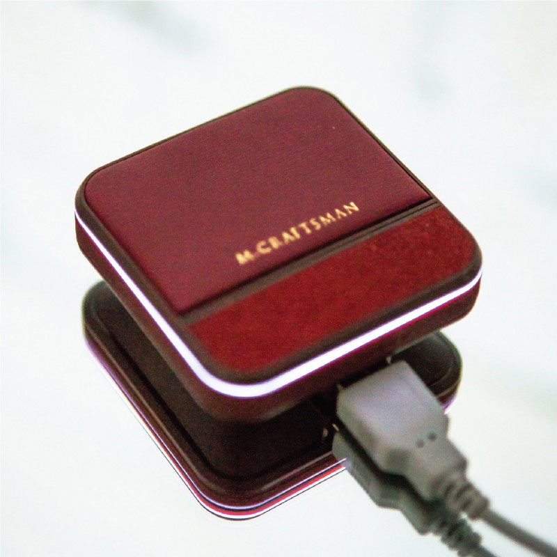 Chargeur externe chic pour smartphone