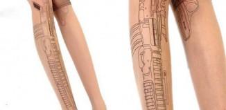 Collant tatouage