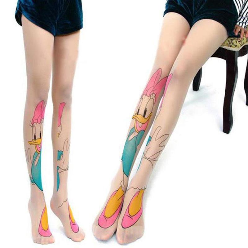 Collant tatouage Daisy
