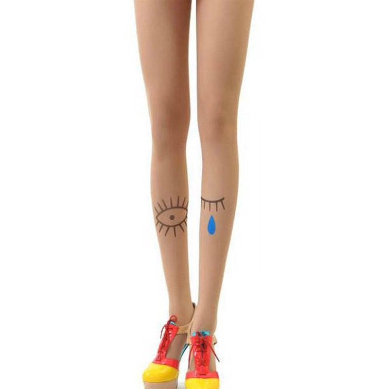 Collant tatouage oeil