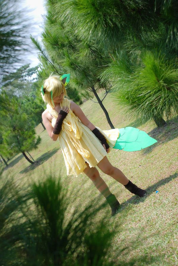 Cosplay Phyllali Pokemon