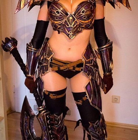 Cosplay sexy de World of Warcraft