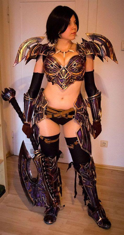 Cosplay sexy de World of Warcraft