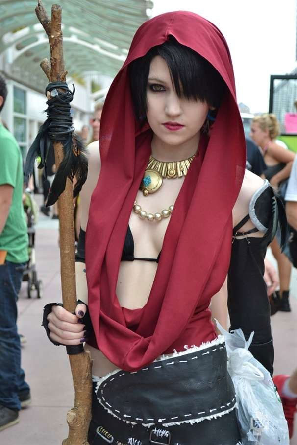 Cosplay sexy de Morrigan Dragon Age