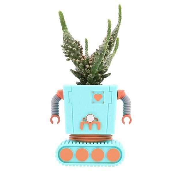 Pot de Fleur Robot