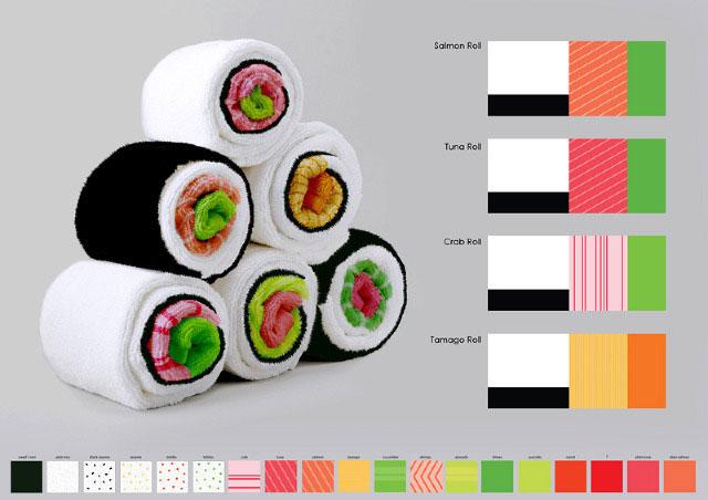 Serviette Sushi