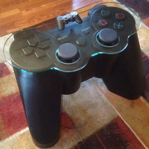 Table manette de Playstation