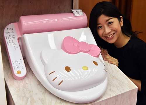 Abattant pour WC Hello Kitty