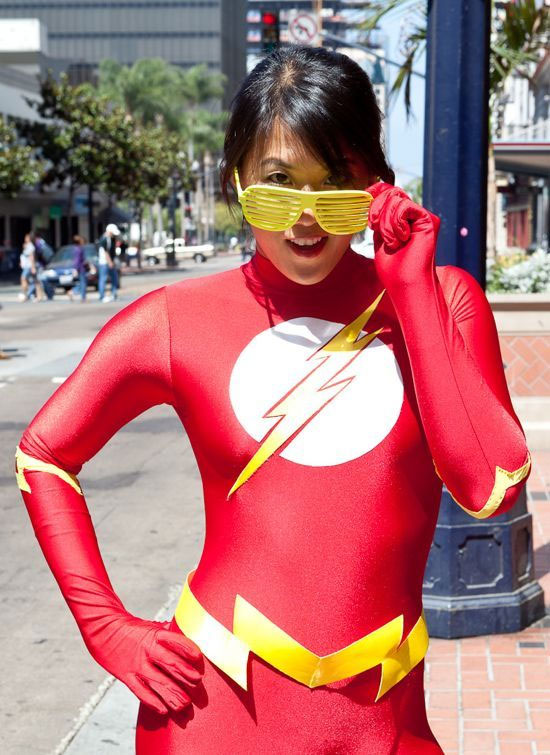 Cosplay sexy de Flash Gordon