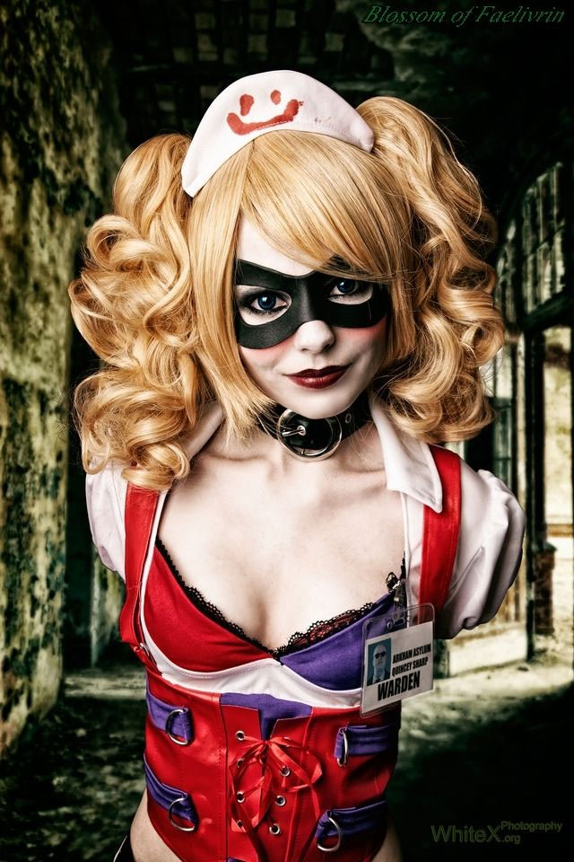 Cosplay sexy d'Harley Quinn