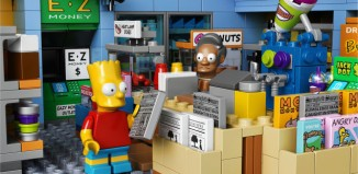 Mini-marché Lego Apu Simpson