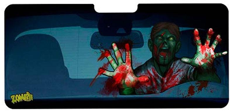 Pare-soleil zombie