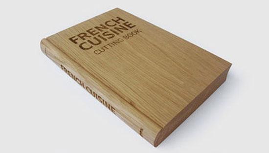 Planche à découper livre de cuisine