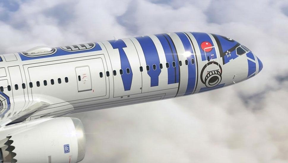 Un avion en mode R2-D2