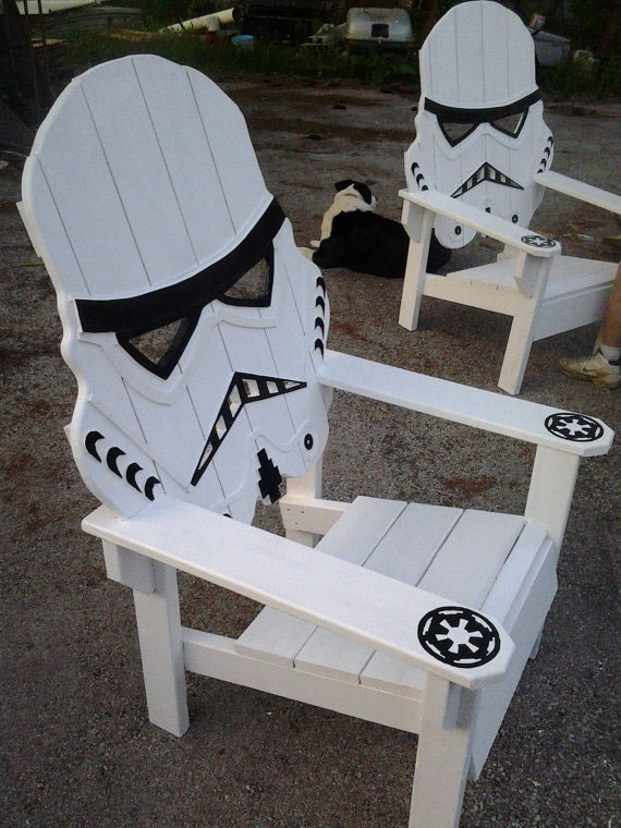 Chaise Stormtrooper #starwars