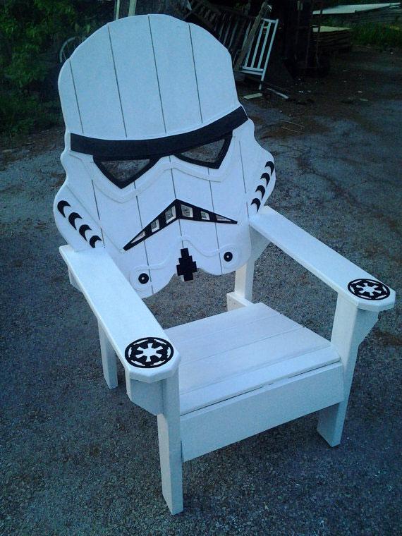 Chaise Stormtrooper #starwars