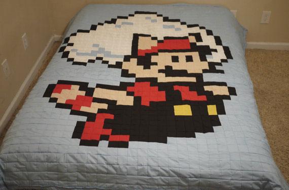 Couette de lit geek