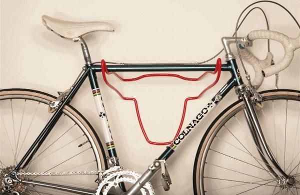 Porte-vélo tête de taureau