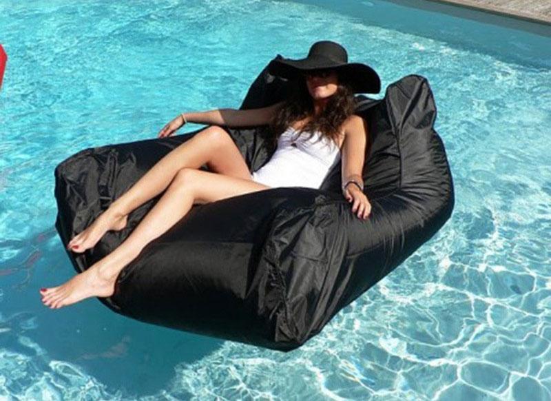 Pouf Flottant Design #SwimmingPool