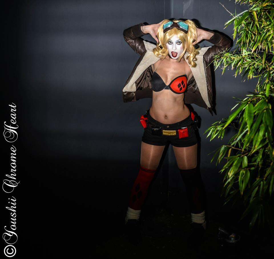 Starshoot in Paris cosplay sexy