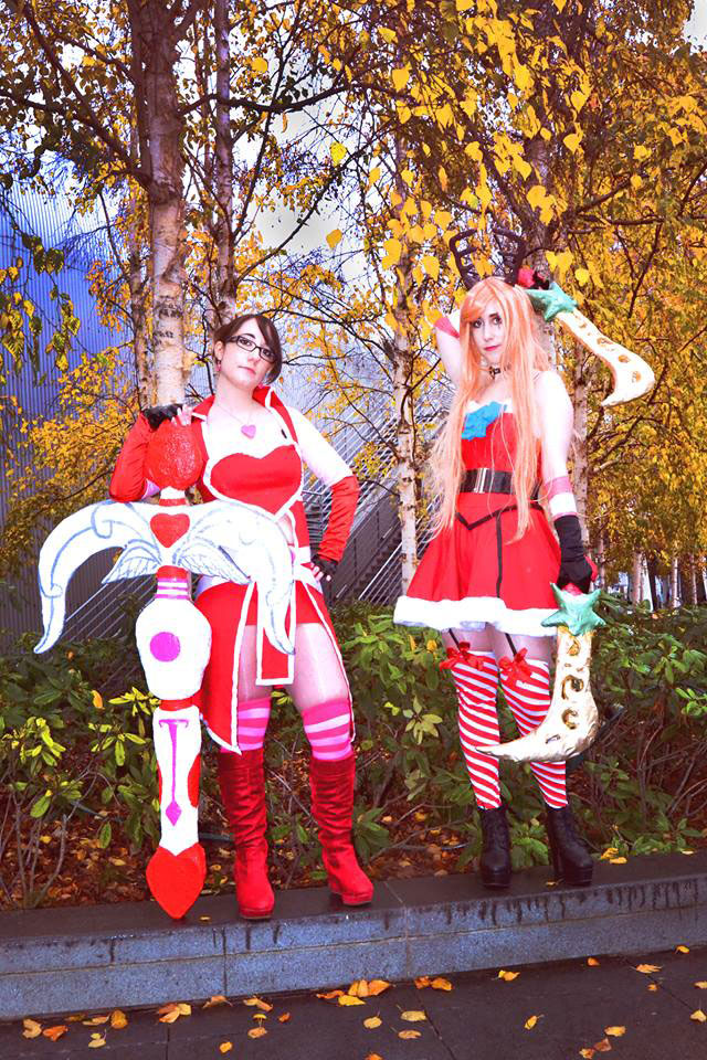 Cosplay Vayne Coeur de Cible & Katarina Sucre d'orge de League Of Legend
