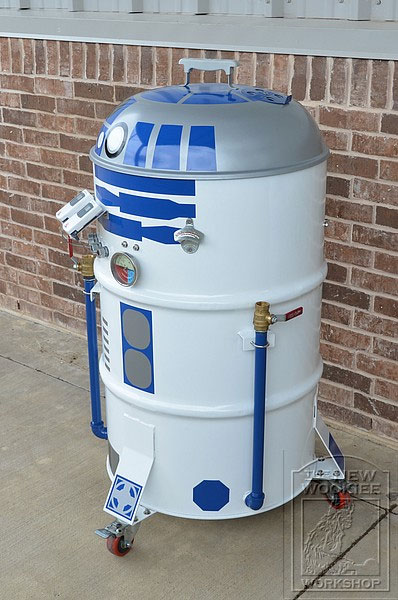 Barbecue R2-D2