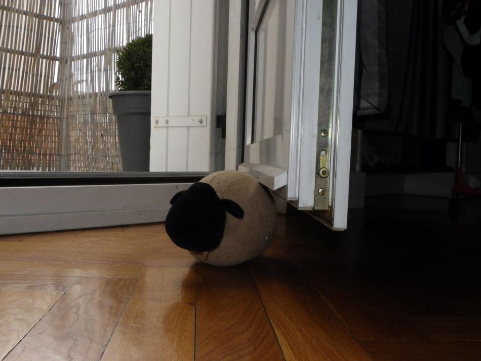Cale-porte mouton