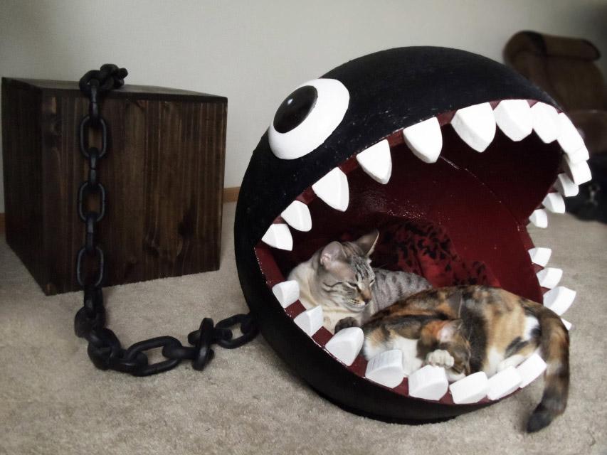 Panier pour chat Chain Chomp