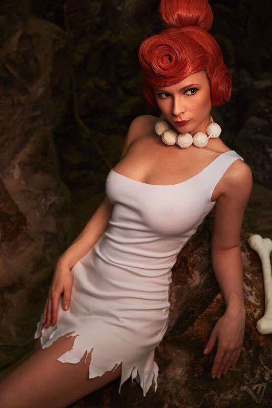 Cosplay sexy Wilma Flintstone