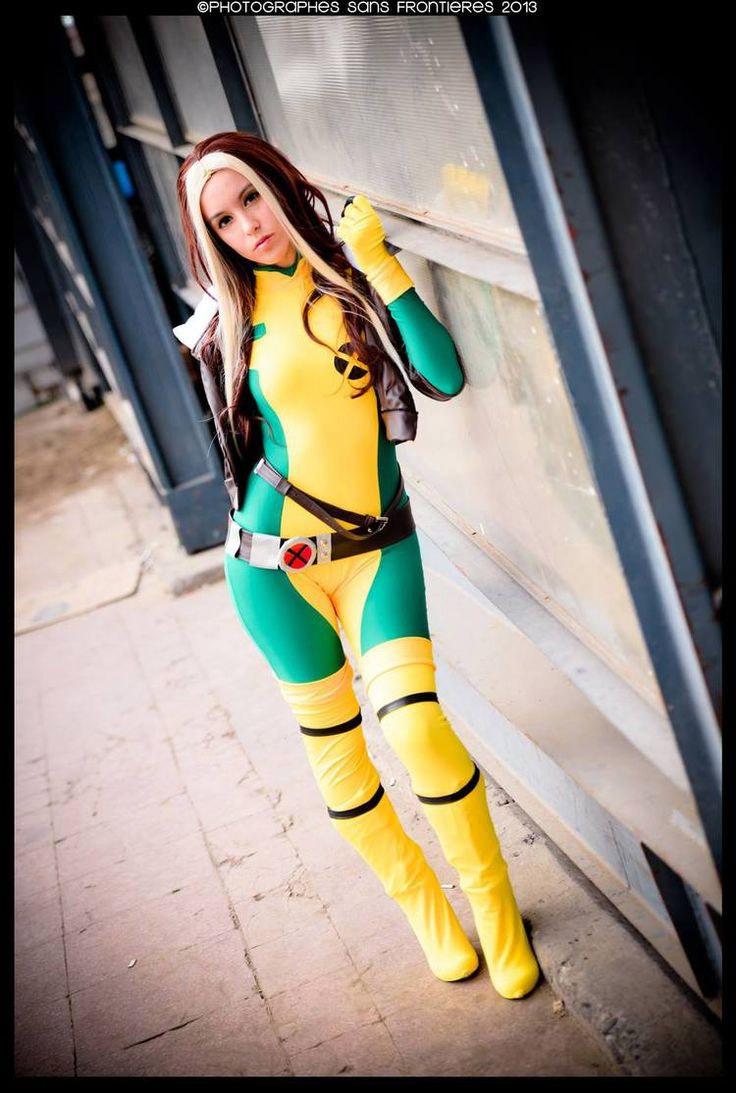 Cosplay sexy Rogue X-Men
