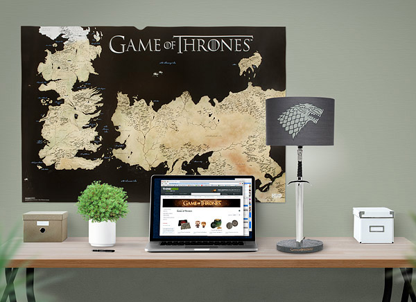 Lampe de bureau game of thrones geek idee deco - Lampe de bureau geek ...