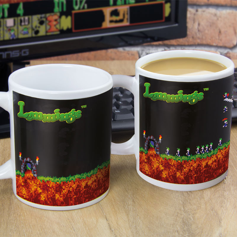 Mug Lemmings Thermoréactif