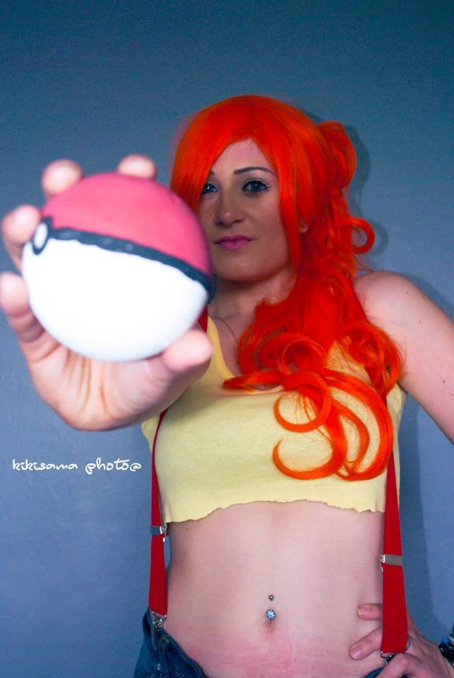 Cosplay Oneesan en Ondine de Pokémon