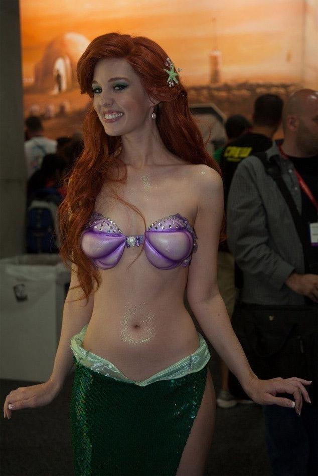 Cosplay Ariel la petite sirène