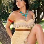 Cosplay de Pocahontas