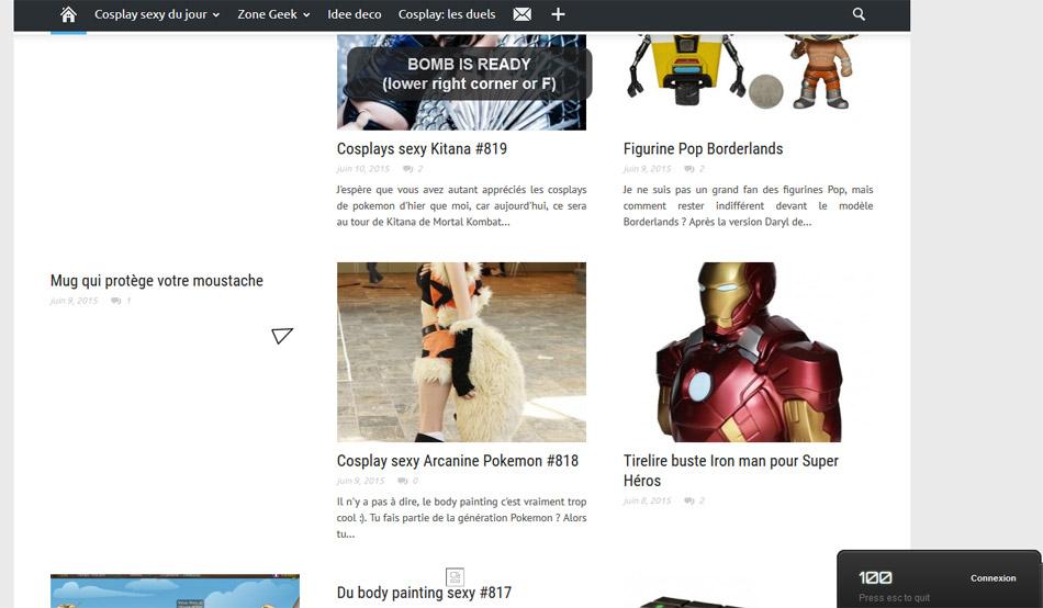 Jeu Astéroïde: détruisez tous les sites web du monde