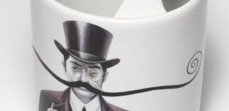Mug qui protège votre moustache