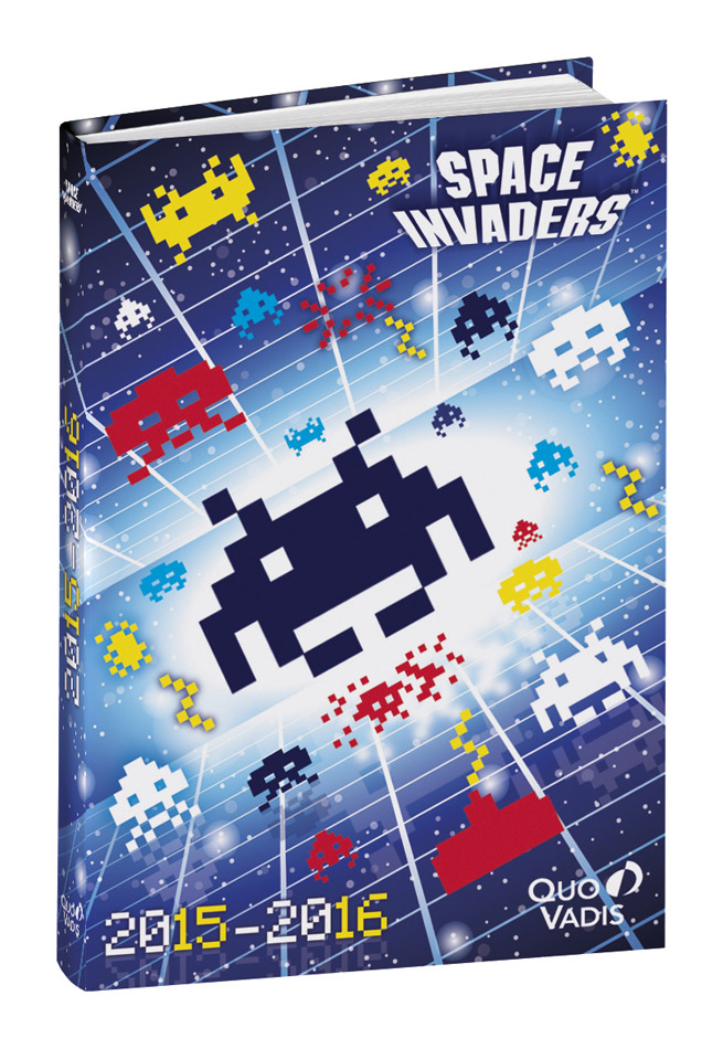 Carnet Space Invaders
