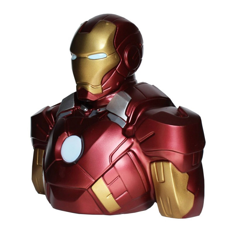 Tirelire buste Iron man