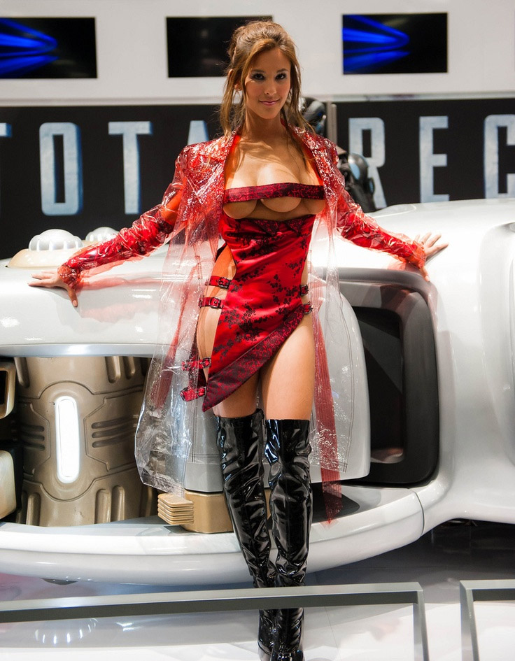 Cosplay sexy de Total Recall